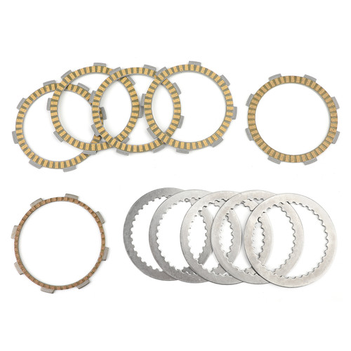 Clutch Plate Kit - Friction & Steel Plates For Honda CRF150 CRF150F 2003-2005 CRF230 CRF230F 2003-2017