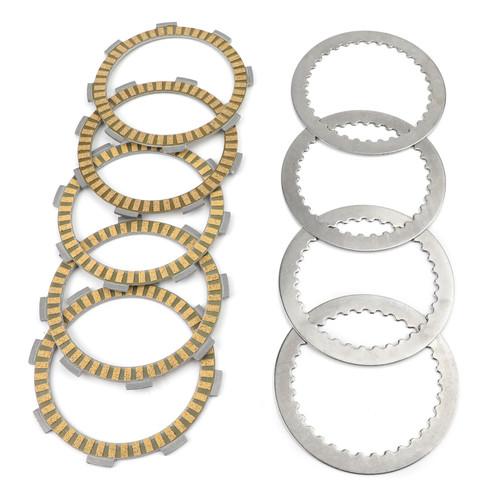Clutch Plate Kit - Friction & Steel Plates For Honda CRF150F CRF150 CBF125 CBF125F