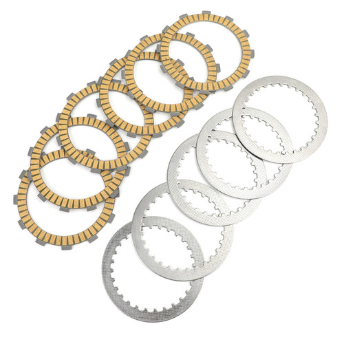 Clutch Plate Kit - Friction & Steel Plates For Honda CB500K 1971-1973 CB550 CB550SC A 1983 CB650SC AC NIGHTHAWK 650 1985