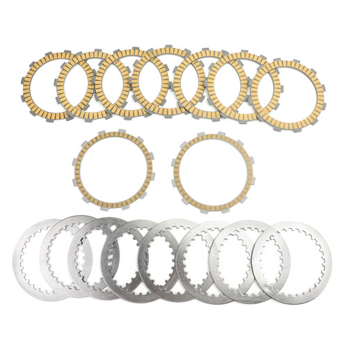 Clutch Plate Kit - Friction & Steel Plates For Honda VT1100 VT1100C VT1100C2 VT1100C3 Shadow VT1100D2 VT1100T Shadow A.C.E VF1000 FE/FF/RE/RF/RG/F2F