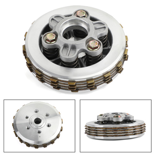 Clutch Plate Kit - Friction & Steel Plates For Honda ANF125 Innova 2003-2012
