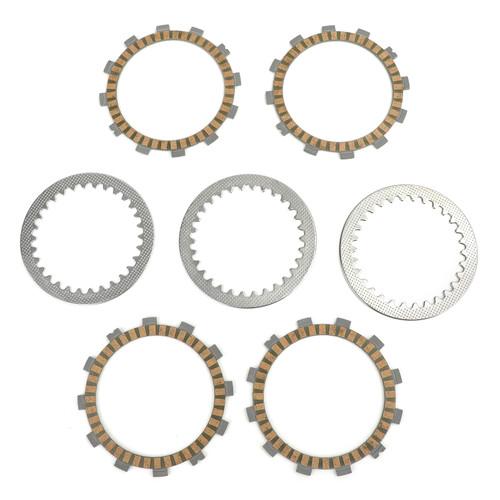 Clutch Plate Kit - Friction & Steel Plates For Suzuki DS80 1980-2000 JR80 2001-2007 RM80 XZ/XD/HD 1982-1983