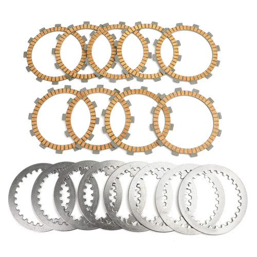 Clutch Plate Kit - Friction & Steel Plates For Yamaha YZF R6 YZF600 TDM850/900/900A TRX850 FZR/YZF/GTS1000