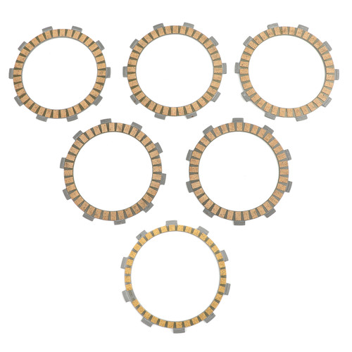 Clutch Plate Kit - Friction Plates For Yamaha ST225/S/T TTR225 TTR230
