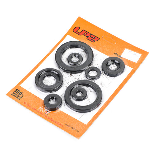 Engine Oil Seal Kit 10PCS For Honda CRF450R 2007-2008