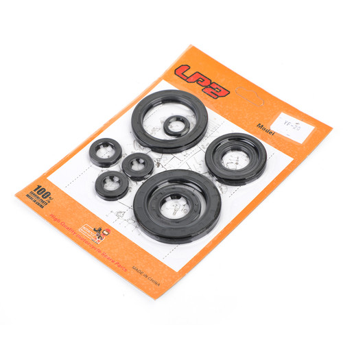 Engine Oil Seal Kit 9PCS For Honda CRF450X 2005-2009/2012-2017