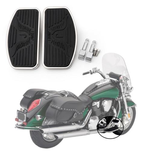Front Floorboard Footboard For Suzuki Boulevard C50,Intruder Volusia 400 800, Black