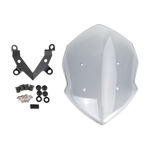 Windshield Windscreen For Kawasaki Z125 2019-2020 GRAY