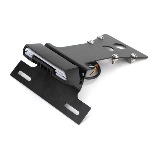 License Plate Bracket with Taillight For Yamaha XSR900 2014-2020 BLK