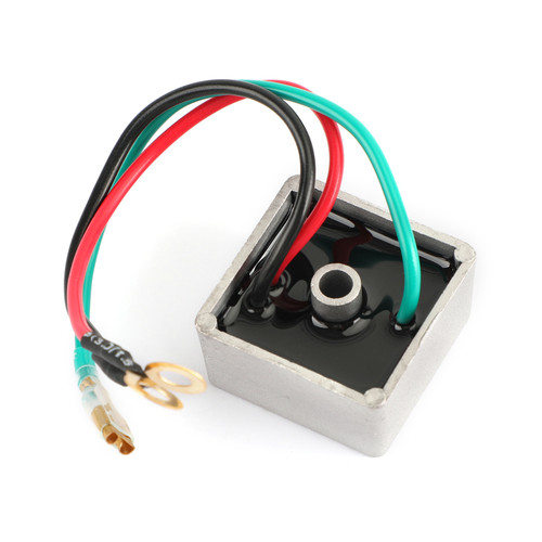 Golf Cart Voltage Regulator Rectifier For 1990-current E-Z-GO 4-Cycle Vehicles, and is compatible with 1984-1991 Club Car Models and Columbia's 1982-1994 Columbia/ParCar, 2-Cycle Models