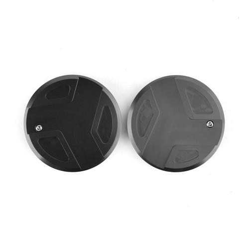 CNC Aluminum Frame Cover Cap Plug For BMW R1200GS R1200RT BLK