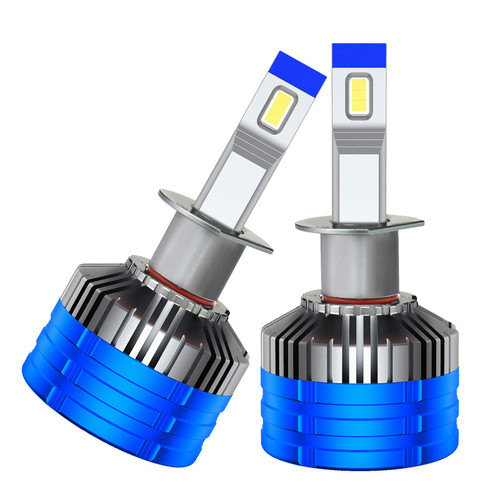 2Pcs H3 LED Headlight Kit Bulbs 6000K Driving Light Fog Lights Bright Truck