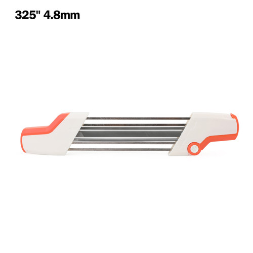 """2 IN 1 Chainsaw Teeth Quick Sharpener File For STIHL .325"""" 4.8mm Chain"""