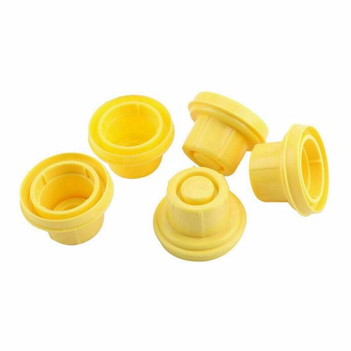 5x Replacement YELLOW SPOUT CAP Top For BLITZ Fuel GAS CAN 900302 900092 900094