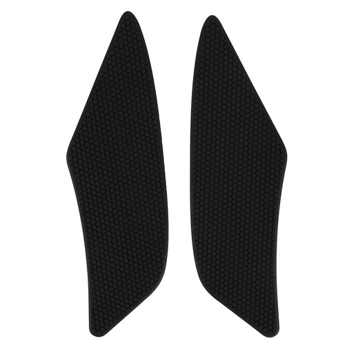 Stickers Tank Traction Pad Side Gas Knee Grip Protector For Yamaha YZF-R6 2017-2020 BLK