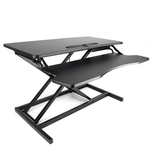 Height Adjustable Standing Desk Monitor Riser Tabletop Sit to Stand Workstation MotorGenic