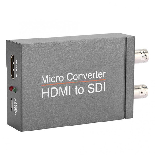 1 Hdmi In To 2 Sdi + Sdi Out Mini Hd Video Micro Converter Audio Switcher