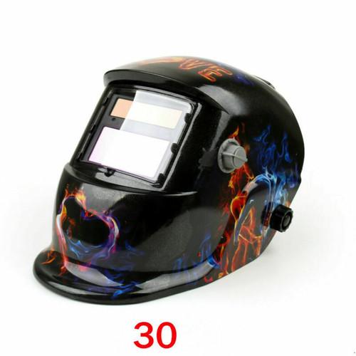 Solar Auto Darkening Welding Helmet Tig Mig Weld Welder Lens Grinding Mask #30