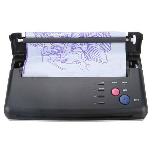 Black Tattoo Transfer Copier Printer Machine Thermal Stencil Paper Maker