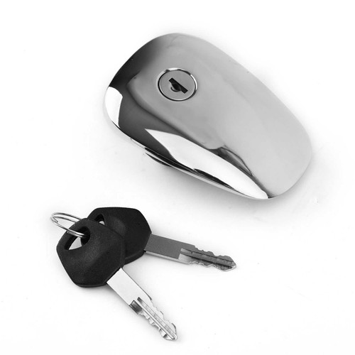 Fuel Gas Tank Cap Cover With Keys For Suzuki Intruder 400 VS400 600 VS600 700 VS700 GLE/GLF/GLP 750 VS750 GLP 1400 VS1400 GL/GLP Boulevard S50 VS800 S83 VS1400