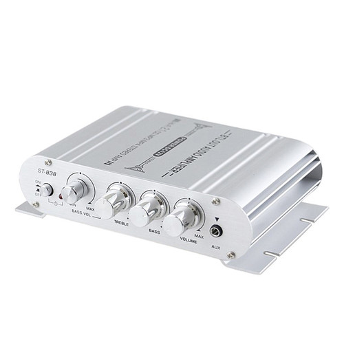 12V 2.1Channels 400 WATTS Car Audio Stereo Amplifier MP3 Radio Booster HiFi