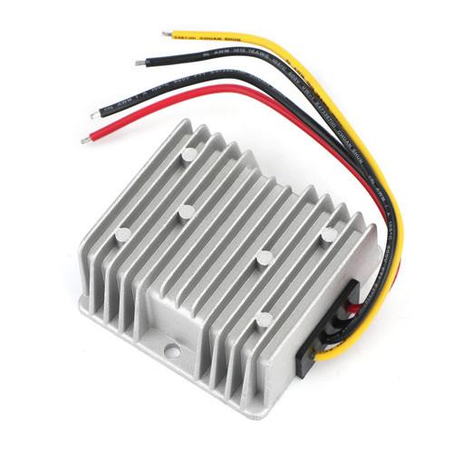 WaterProof 24V to 12V 10A 120W Step Down DC/DC Power Converter Regulator