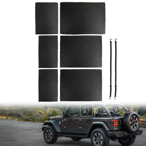 Black Trunk Portable Mattress Sleeping Nite Pad Cushion Fit For Jeep Wrangler JL 18-20