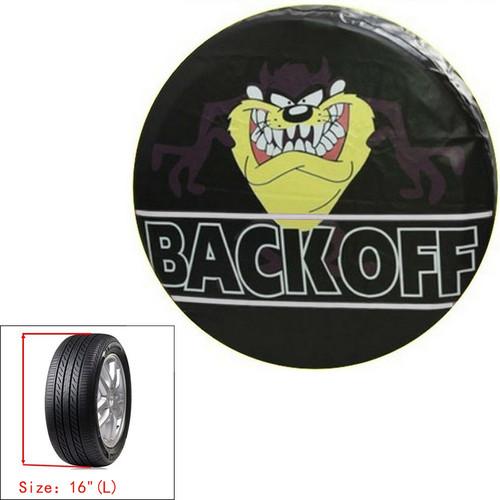 "16"" Spare Wheel Storage Bag Tire Cover Pouch Soft Case Tasmanian Devil Protector"
