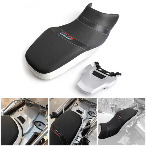 Lower Dual Sport Driver & Passenger Seat Cushion Fit For BMW R1200GS  / LC 2013-2018 R1200GS Adventure 2014-2017 R1250GS / Adventure 2018-2020