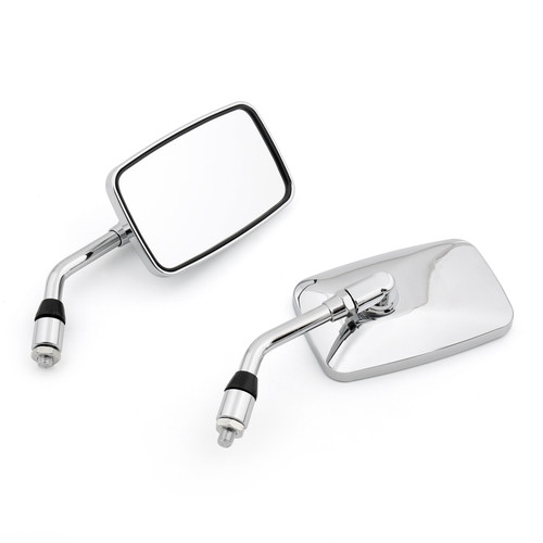 Pair Motorcycle Rearview Mirror Fit For Honda VT1100 Shadow NV600 VT250 Shadow 400