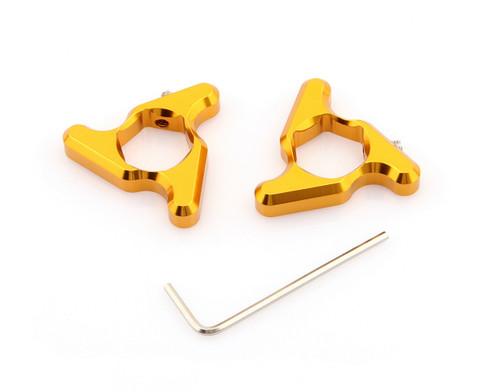 Blade Fork Preload Adjusters CBR 600 1000RR Kawasaki ZX6R Z1000 GSXR750 19mm Gold