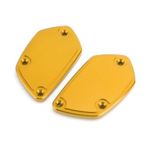 CNC Aluminum Front Brake Clutch Fluid Reservoir Cover Cap Fit For BMW R nine T GOLD