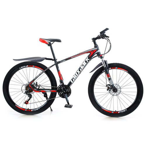 27.5 inches Wheels Adults Mountain Bike 21 Speed Bikes Bicycle MTB Black&Red