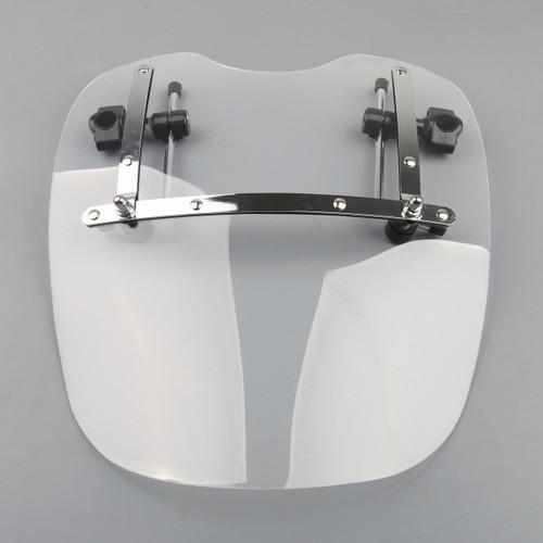 "Large 19""x17"" Windshield Suzuki Cruisers & Standards (1969-2015) White"