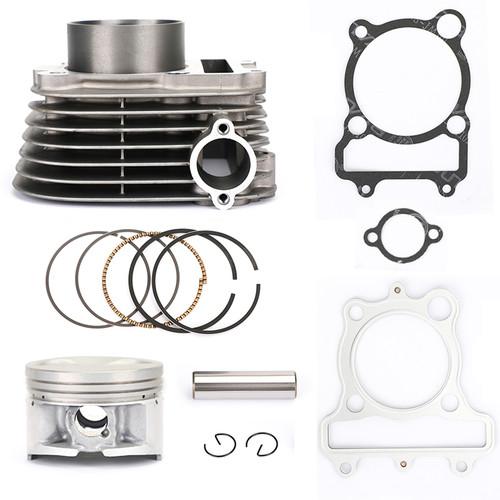 Cylinder Piston Gasket Kit For Yamaha Moto-4 Bear Tracker Timberwolf 250 89-04