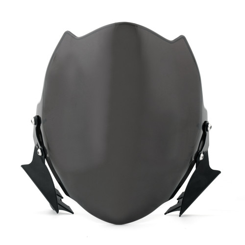 Fly Wind Screen Windshield For Ducati Monster 659/696/795/796 Black