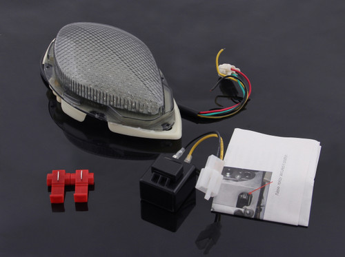 Tail Light with integrated Turn Signals for Yamaha Road Star (2004-2008), Smoke
