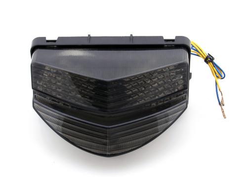 Integrated LED TailLight Turn Signals For Honda CBR 600 F4i 2001-2003 Smoke