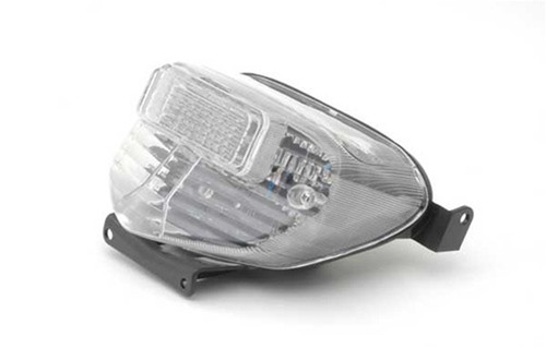 Tail Light with integrated Turn Signals for Suzuki GSXR 600 / 750 (00-03) GSXR 1000 (01-02), Clear