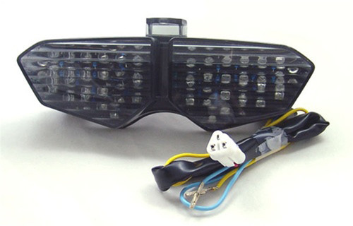 Integrated LED TailLight Turn Signals For Yamaha YZF R6 2003-2005 YZF R6S 2006-2008 Smoke