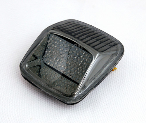 Tail Light with integrated Turn Signals for Harley Davidson V-ROD, Night Rod, Street Rod (2002-2011) Smoke