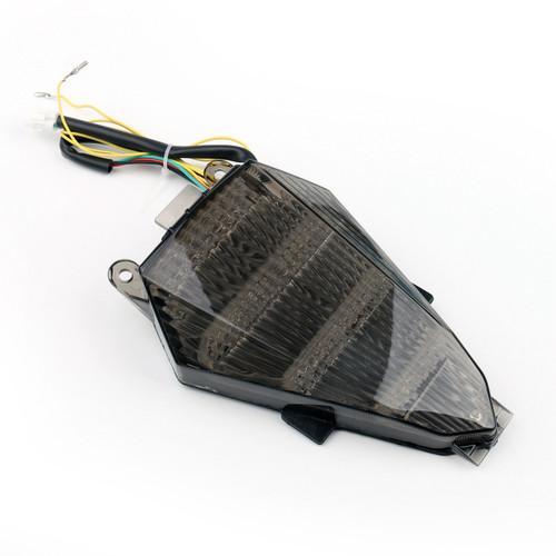 LED Taillight integrated Turn Signals Yamaha YZF R6 (2008-2014) Smoke