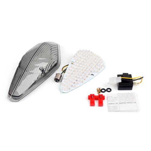 Tail Light with integrated Turn Signals Honda VTX 1300 1800 Retro, 1800T (2002-2008), Smoke