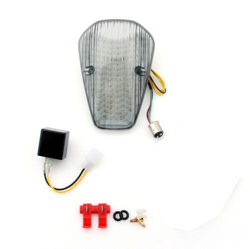 Tail Light with integrated Turn Signals Honda VTX 1300 1800 Custom (2002) Smoke