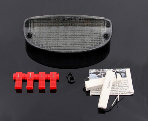 Tail Light with integrated Turn Signals for Suzuki GS500E (2003-2005), Smoke