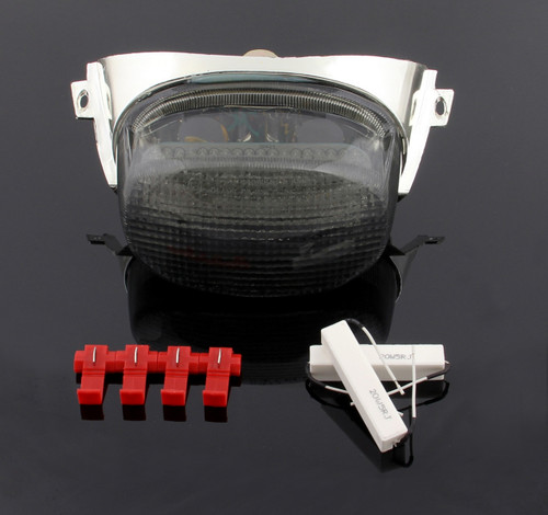 LED Taillight + Turn Signals For Suzuki GSXR600 1997-2000 GSXR750 1996-1999 GSXR1100 Smoke