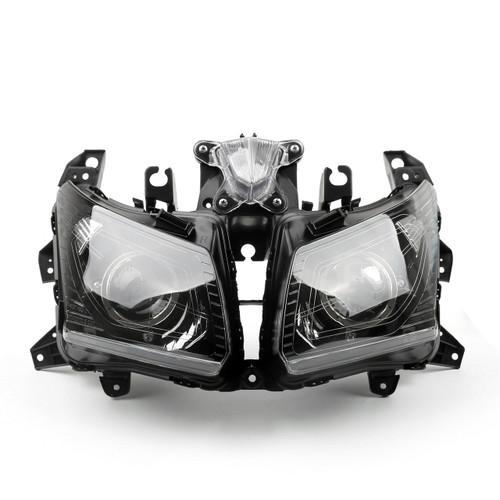 Front Headlight Headlamp YAMAHA TMAX 530 (2012-2013) Black