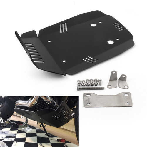 Bash Skid Plate Engine Guard Protector for BMW R NINE T 13-19 Black