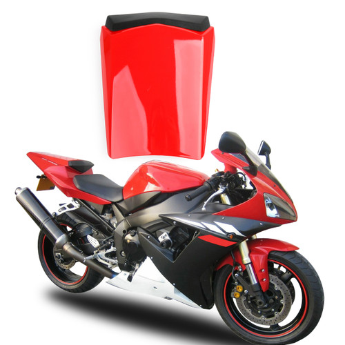 Seat Cowl Rear Passenger Pillion Seat Cover Yamaha R1 YZFR1 (2002-2003) Red