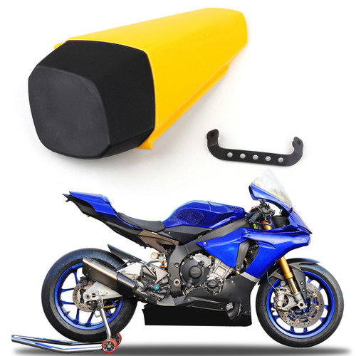 Seat Cowl Pillion Rear Passenger Tandem Cover Yamaha R1 YZFR1 (2015-2016-2017) Yellow
